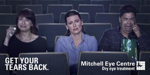 Mitchell Eye Centre: Movie Outdoor Advert by Wax