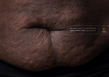 Iddera: Scars of Love, 3 Print Ad by The Hook Creative Agency Lagos