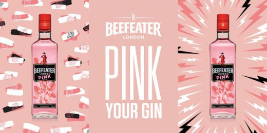 Beefeater: Pink Your Gin, 5 Print Ad by Impero