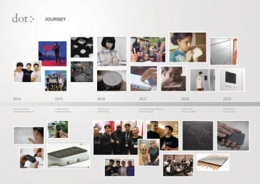 Dot Incorporation: Making The World Accessible, Dot by Dot. 3 Design & Branding by Serviceplan Korea, Serviceplan Munich