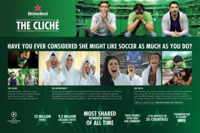 Heineken: The Cliché [image] 2 Digital Advert by Hungry Man, Psycho N'Look, Publicis Sao Paulo
