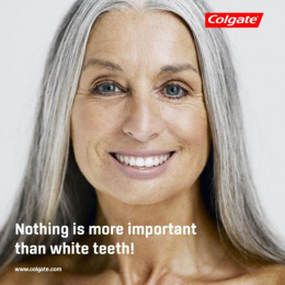 Colgate: White Teeth, 2 Print Ad by University AAB Kosovo