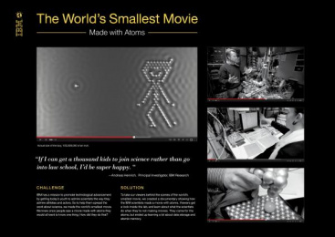 IBM RESEARCH: THE WORLD'S SMALLEST MOVIE Case study by Ogilvy & Mather New York
