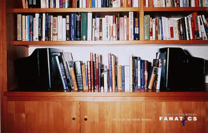 Fanatics Bookstore: BOOKENDS Print Ad by Harrison Human