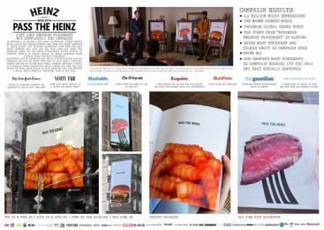 Heinz: Pass The Heinz [image] Print Ad by DAVID Miami, Domo, Sterling Cooper Draper Pryce