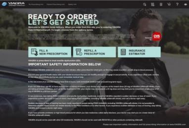 Viagra: Viagra Home Delivery Digital Advert by Vynamic