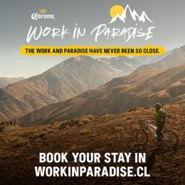 Corona: Work In Paradise, 1 Outdoor Advert by WILD FI