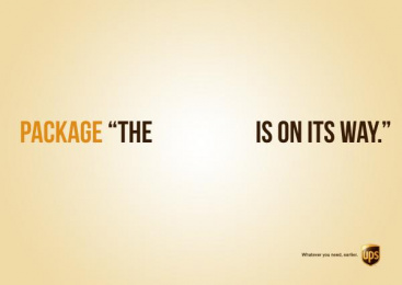 UPS: Package Print Ad by Miami Ad School Hamburg