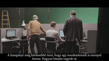 Hungarian Telekom: Lots of talk, 2 Making of by Isobar Budapest, Fox Production