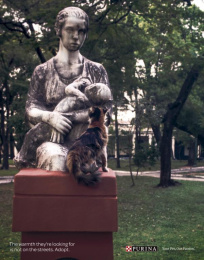 Purina: Statues, 1 Print Ad by Publicitaria Nasta Ogilvy Paraguay
