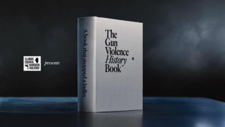 Illinois Council Against Handgun Violence: The Gun Violence History Book Print Ad by FCB Chicago