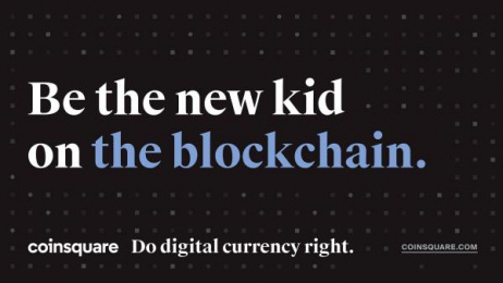 Coinsquare: Blockchain Print Ad by The Garden
