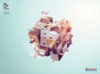 Sodimac: Bathrooms Print Ad by McCann Worldgroup Lima