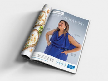 Impromy: Total Health: Woman Print Ad by The Ross Partnership (TRP)