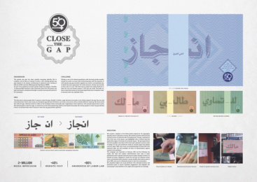Fiftyfifty Lebanon: Close The Gap - Board Case study by Impact BBDO Dubai