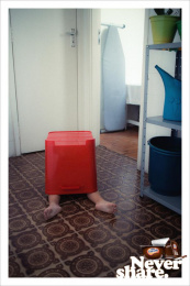Danette: Red Bucket Print Ad by Y&R Sao Paulo