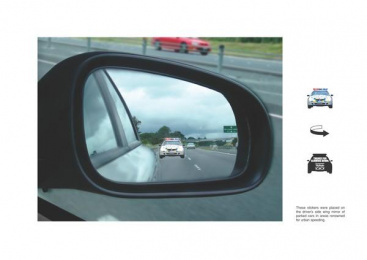 Road Safety: STICKERS Print Ad by Colenso BBDO Auckland