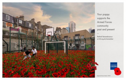 The Royal British Legion: Poppy, 4 Print Ad by Unit 9 London, Y&R London