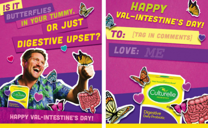 Culturelle: Val-Intestine's Day, 4 Digital Advert by Terry & Sandy