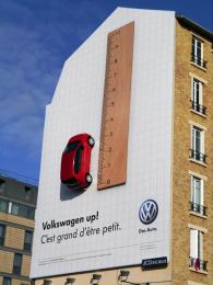 Volkswagen: Up! Outdoor Advert by V Agency Paris