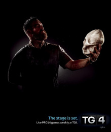 Tg4: Rugby Stage Print Ad by Publicis Dublin