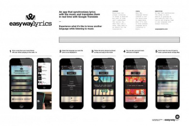 Easy Way: EASY WAY LYRICS Case study by Loducca
