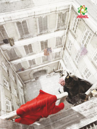 Ariel: Bull Print Ad by Saatchi & Saatchi London, Saatchi & Saatchi Moscow