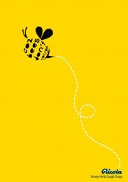 Ricola: Bees Print Ad by Miami Ad School Hamburg