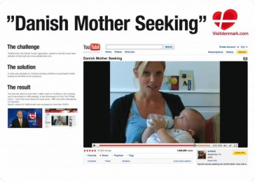 VISIT DENMARK: DANISH MOTHER SEEKING Promo / PR Ad by Grey Copenhagen