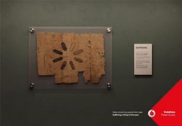 Vodafone: Buffering, 3 Print Ad by JWT Albania
