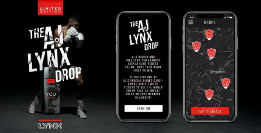 Lynx: The AJ Lynx Drop Digital Advert by TMW