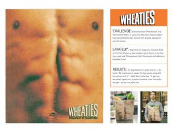 Wheaties Breakfast Cereal: MUSCLE BAG Ambient Advert by Saatchi & Saatchi New York