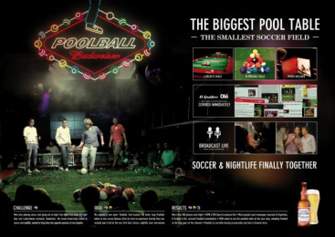 Budweiser: POOLBALL Direct marketing by Ogilvy & Mather Buenos Aires