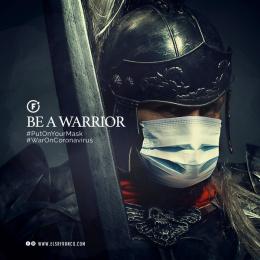 Sr Franco: Be a Warrior, 1 Digital Advert by El Sr Franco