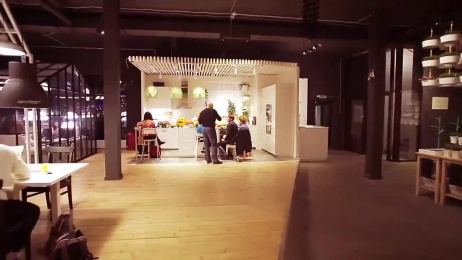IKEA: Instead of Cafe [alternative version] Ambient Advert by Instinct Moscow