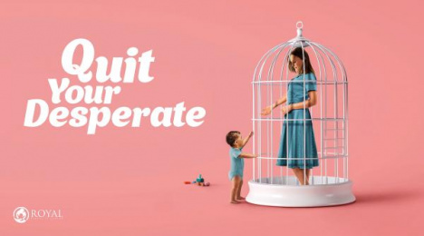 Royal Fertility Center: Cage Print Ad by Endorphins Art Labs