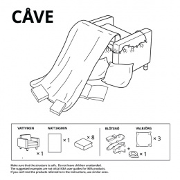 IKEA: Forts at Home - Cave Digital Advert by Instinct Moscow