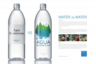 Panamericana - Art And Design School: WATER VS WATER Promo / PR Ad by ALMAP BBDO Brazil
