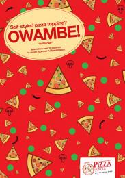 Pizza Jungle: Owambe-Ankara, 2 Print Ad by OneWildcard