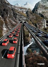 Think Electrical Car: OXYGEN Print Ad by McCann Oslo