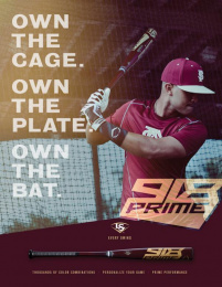 Louisville Slugger: Custom 918 Print Ad by Young & Laramore