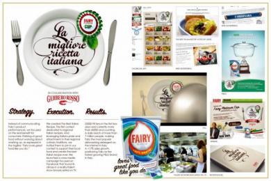 Fairy: THE BEST ITALIAN RECIPE Digital Advert by Saatchi & Saatchi Milan
