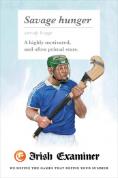 Irish Examiner: Savage Hunger Print Ad by Chemistry Dublin