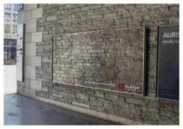 Teleclub: Interruptions, 4 Outdoor Advert by Advico Y&R Zurich
