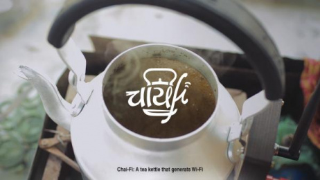 Chakra Tea: Chai-Fi, 2 Print Ad by Dentsu Webchutney