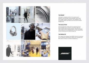 Bose Qc35: bose Between The Ears' [image] 2 Case study by Mediacom Mena Dubai