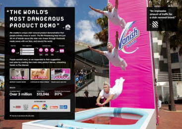 Vanish: THE WORLD'S MOST DANGEROUS PRODUCT DEMO Direct marketing by Holler Sydney