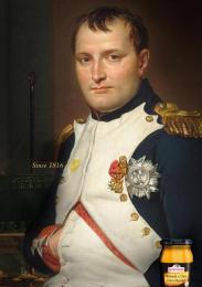 Bornier: Napoleon Print Ad by McCann Prague