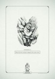 Gui Ling Yuan Fang Tea: Poophemisms 'Troll' Print Ad by Y&R Johannesburg