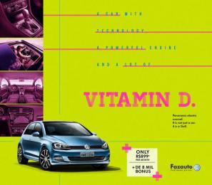 Volkswagen: Golf, 1 Print Ad by G Marketing Comunicação